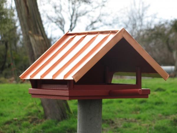vogelhaus mit kupfer falzdach. Black Bedroom Furniture Sets. Home Design Ideas